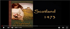 Highland Blessings video book trailer
